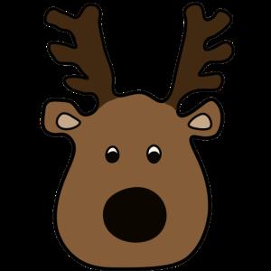 kleiner Elch - Merry X MAS