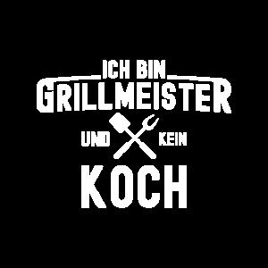 Grillen Grillmeister Grillkönig Geschenk