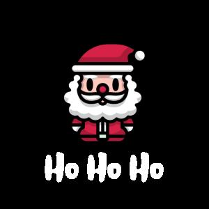 Niedlicher Weihnachtsmann HoHoHo