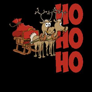 HoHoHo Frohe Weihnachten - Stefs Becherladen