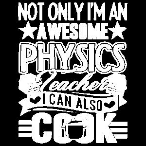 Physiklehrer Physiklehrer kann kochen