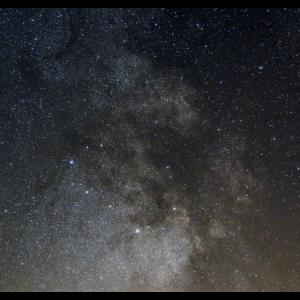 Milchstraße - Detail