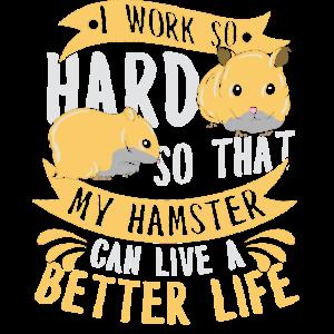 Hamster Nagetier Arbeiten Pelzig Tierchen Haustier