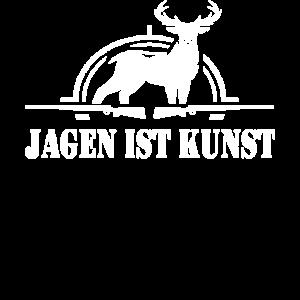 Jäger Schütze Spruch Rotwild Geschenkidee