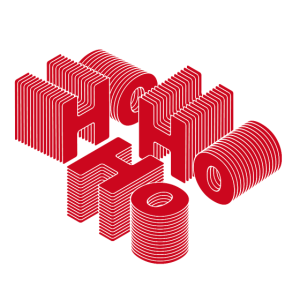 HoHoHo 3D stylisch