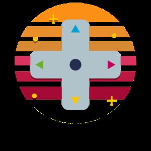 Gamepad Sunset