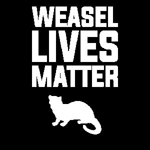 Wiesel lebt Materie