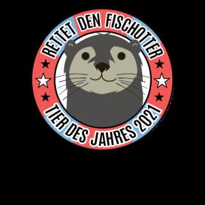 Tier des Jahres 2021 Rettet den Fischotter Otter