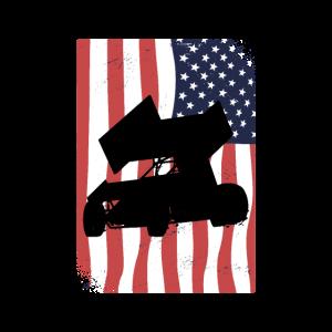 SPRINT CAR DIRT TRACK RACING: American Sprint Car