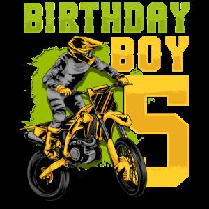 5. Geburtstag Dirt Bike Motocross