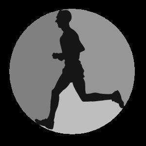 Jogger laufen fit joggen cardio Training rennen