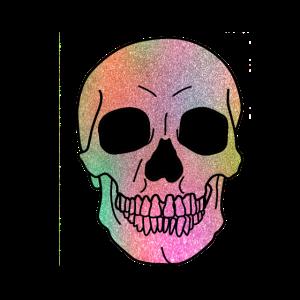 Skull - Totenkopf Glitzer