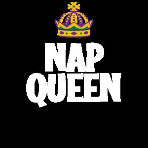 Powernap Queen Mittagsschlaf Nickerchen Schlafen