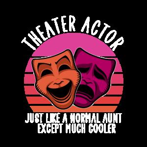 Theatre actor