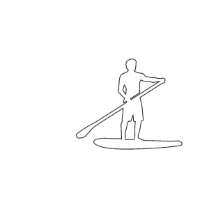 SUP Stand up for your right Paddling