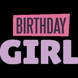 Birthday Girl Frau Geburtstag