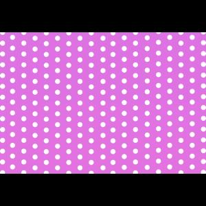 rosa Maske mit Punkten pink mask