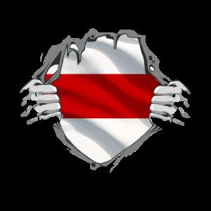 Weissrussland Flagge Weiss Rot Weiss Belarus