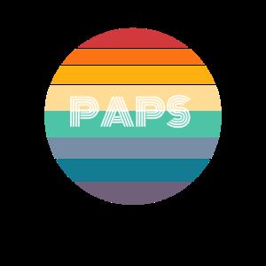Rainbow PAPS Shirt, Retro PAPS, PAPS Sunset, PAPS