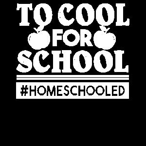 Homeschool für die Schule zu kühlen