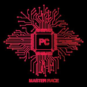 Rotes PC-Master-Race - CPU-Nerd