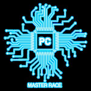Blaues PC-Master-Race - CPU-Nerd