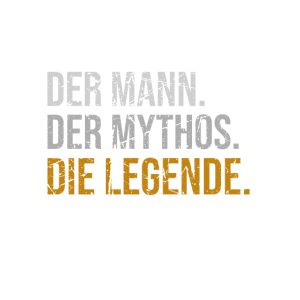 Bester Opa Legende Mythos Geschenk