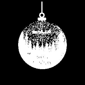 Weihnachten Rentier Schlitten Geschenkidee Santa