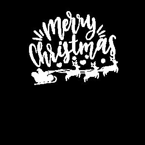 Weihnachten Rentier Schlitten Geschenkidee Santa O