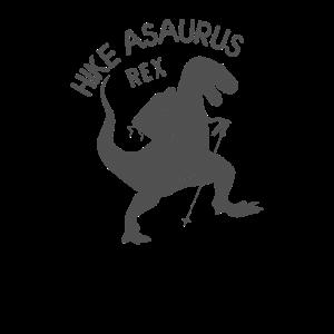 hike asaurus rex Dinosaurier Wandern