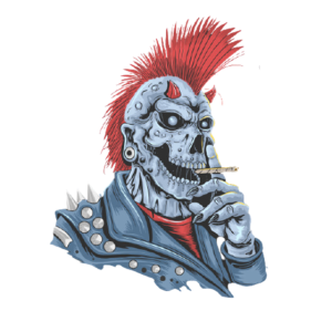 Rauchender Punk