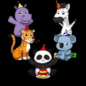 Kindergeburtstag Tiere Geburtstag Zoo Tiere