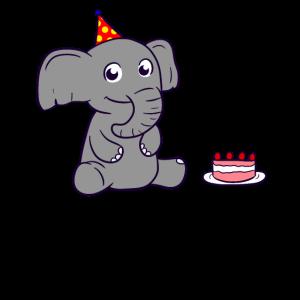 Bday Elephant