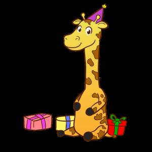Bday Giraffe