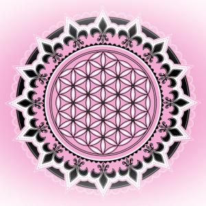 Blume des Lebens, Fleur de lys, Yoga, Symbol