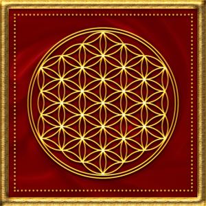 Blume des Lebens, Heilige Geometrie, Yoga, Symbol
