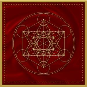 Metatrons Würfel, Heilige Geometrie, Yoga, Symbol