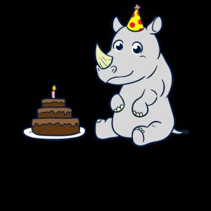 Geburtstag Nashorn Kindergeburtstag
