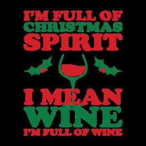 Wein Und Weihnachten Lustiges Zitat