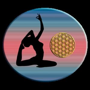 Yoga Übung Frau