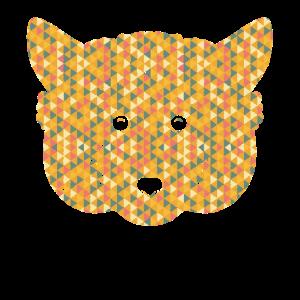 Red Panda Geometric Shirts