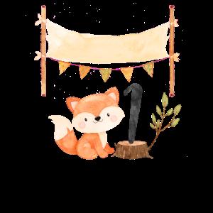 1 Jahr Geburtstag Fuchs