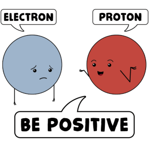Atom sagt positiv sein