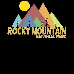 Rocky Mountains National Park USA