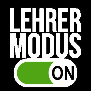 Lehrer Modus (weiß)