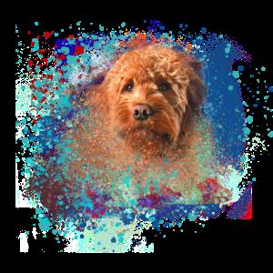 doodle ,Hund, illustration, Graffiti