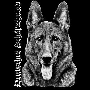 Schäferhund Deutscher Schäferhund Hunde Zeichnung