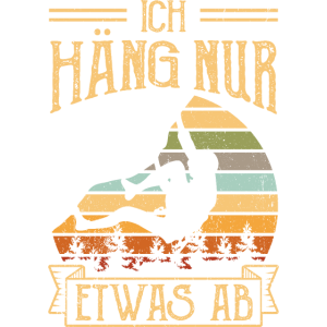 Bouldern Ich häng nur etwas ab Vinatge