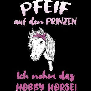 Hobby Horsing Hobby Horse Pferd Reiten Mädchen