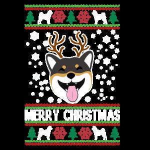 Official Shiba Inu Ugly Christmas Sweater